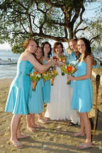 Wedding on Playa Hermosa and Honeymoon for the Whole Family