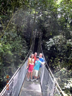L.S.K. Arenal Hanging Bridges Costa Rica Vacations Photo
