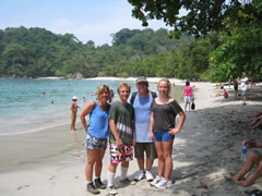 V.R. and Family Manuel Antonio Costa Rica Vacations Photo