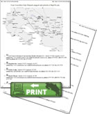 Printable map and itinerary