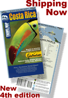 Costa Rica Waterproof Map